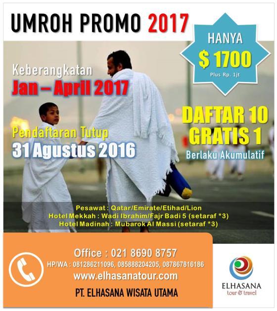 Umroh Promo 2017 Banner