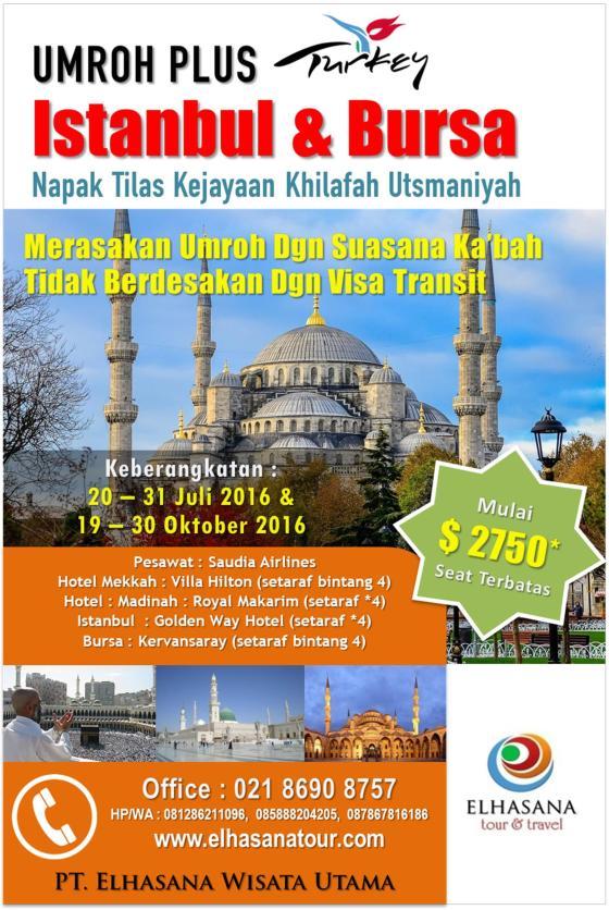 Umroh Visa Transit 2016