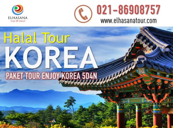 Halal Tour Enjoy Korea 5D4N