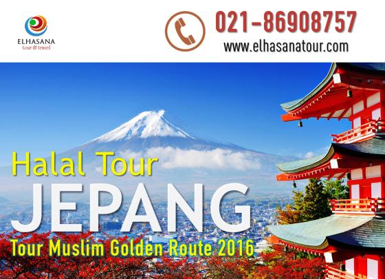 Halal Tour Jepang Muslim Golden Route