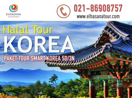 Halal Tour Korea Paket Smart 5D3N