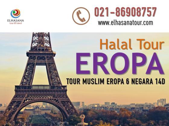 Halal Tour Eropa Muslim 14D