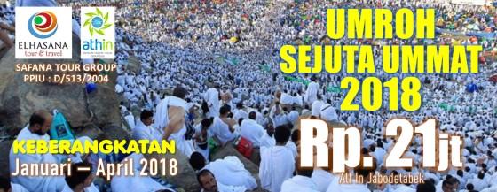Banner Program Umroh Sewjuta Ummat