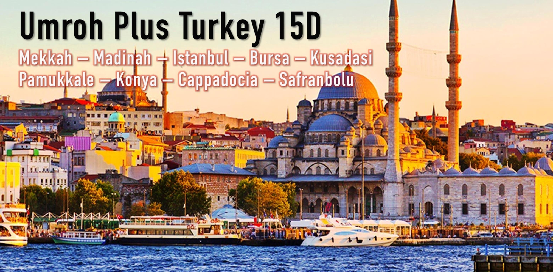 Umroh Plus Turkey15D