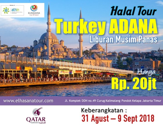 Banner Turki Adana kecil