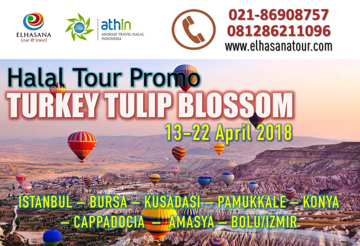 HALAL TOUR TURKEY TULIP BLOSSOM 2018