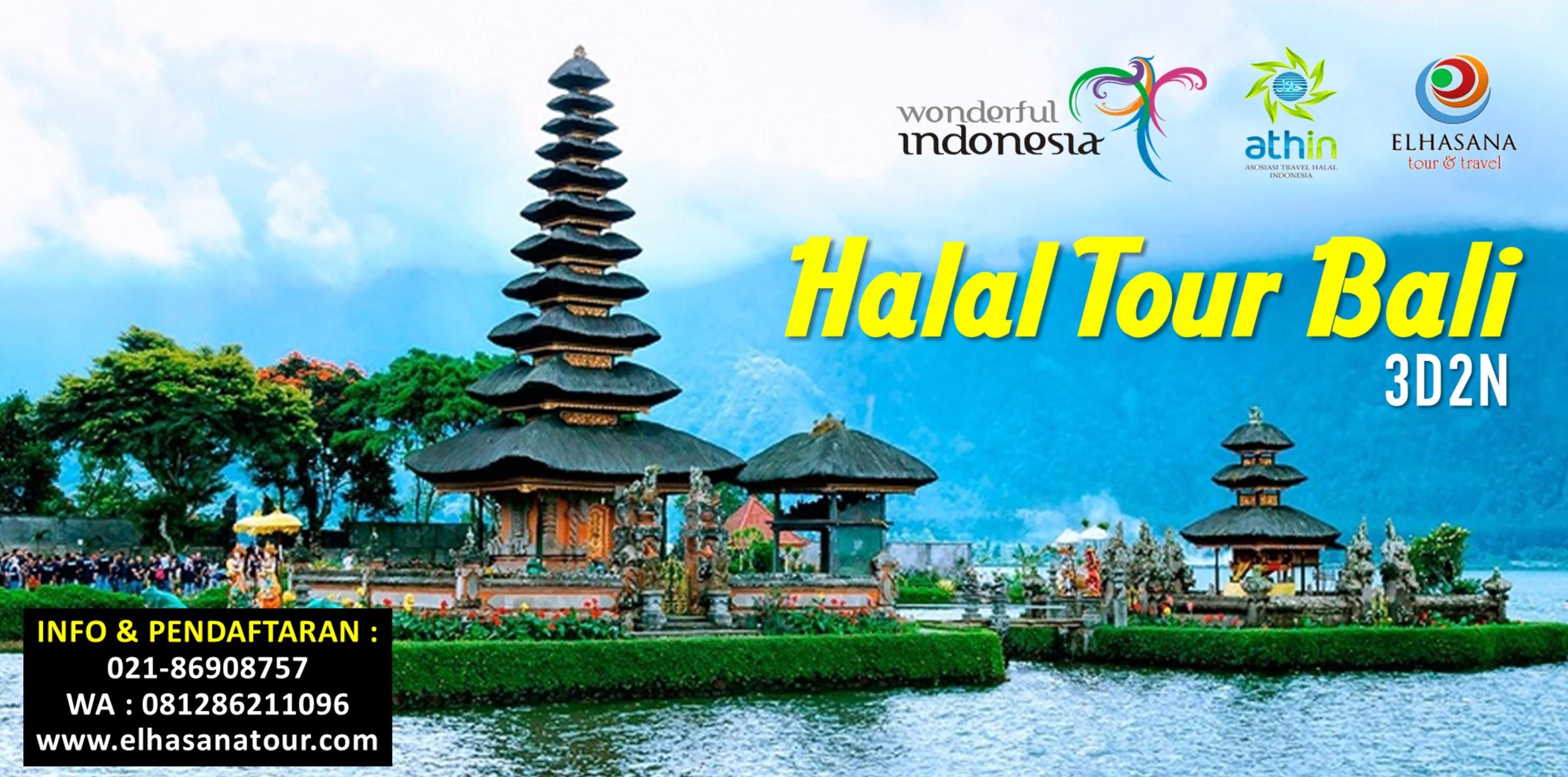 Halal Tour Bali 3d2n Elhasana Tour