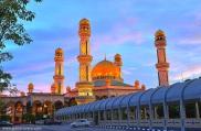 The Jame Asr Hassanil Bolkiah Mosque