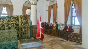 Makan Osman Gazi, pendiri Dinasty Utsmani