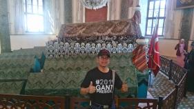 Ust. Muhayar di Makam Osman Gazi