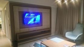 Ruang nonton TV Radisson BLU