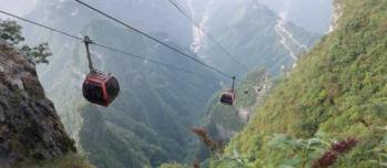 Cable Car Tianmen