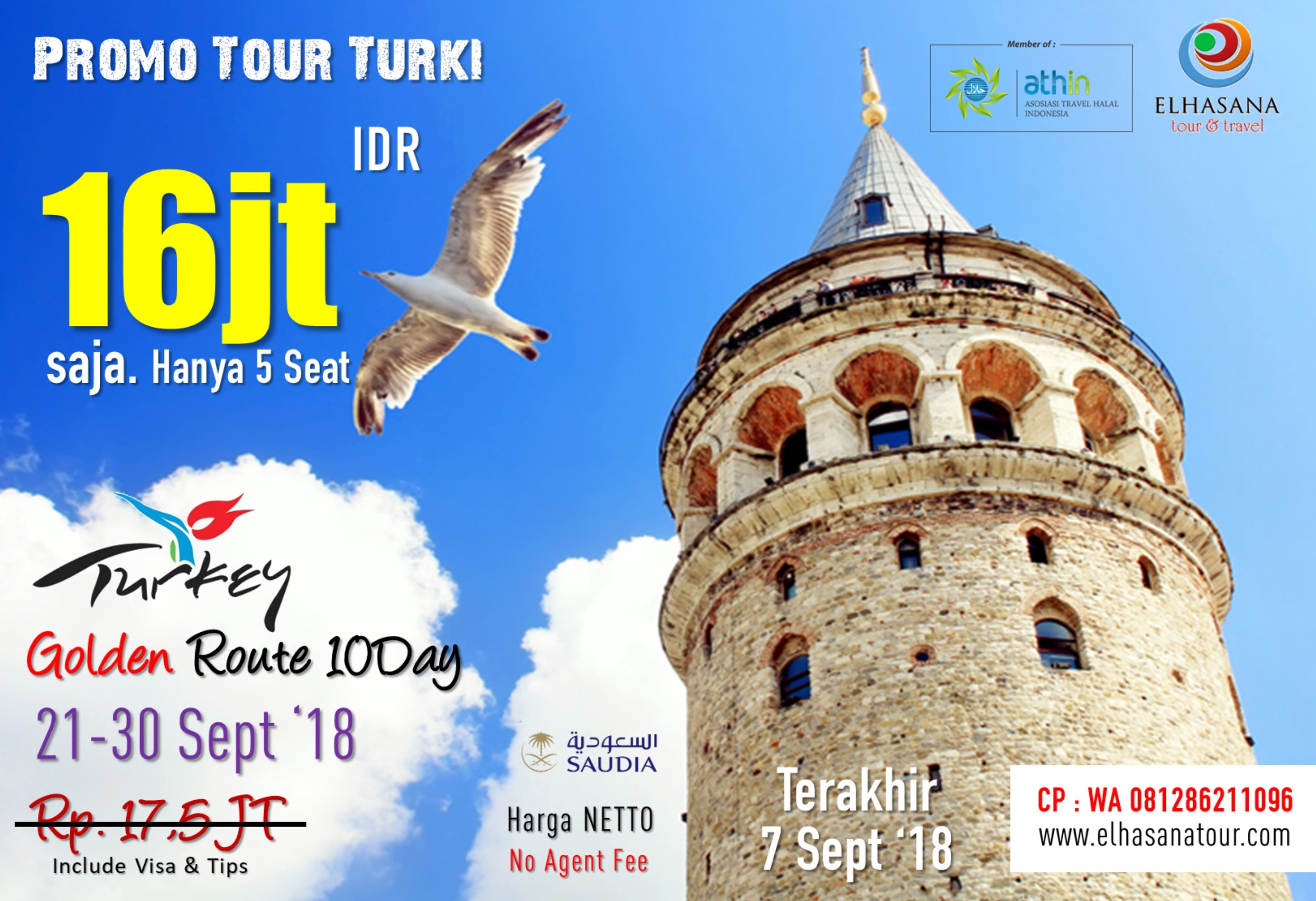 PROMO TURKEY TOUR 10D